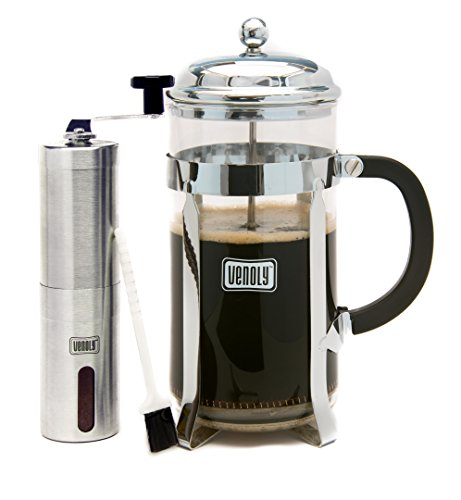 French Press Coffee Maker Amp Burr Grinder Bundle Best Price