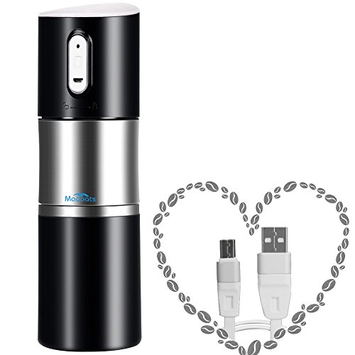 portable coffee grinder madoats rechargeable coffee grinders best price review. Black Bedroom Furniture Sets. Home Design Ideas