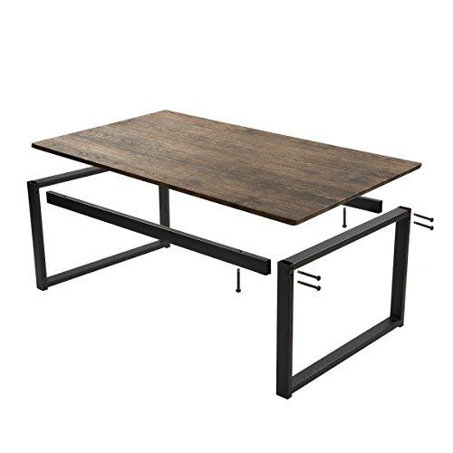 Aingoo Rustic Wooden Coffee Table ...