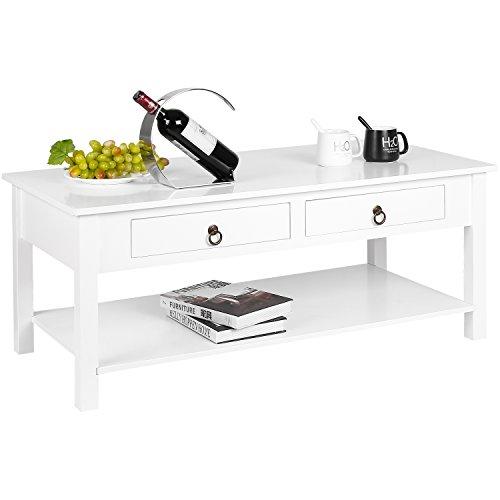 HOMFA Modern Coffee Table Console Desk With Storage Best