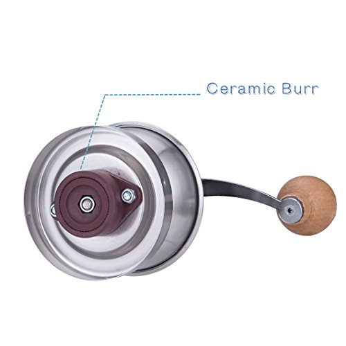 Conical Ceramic Burr Coffee Grinder Best Price Review