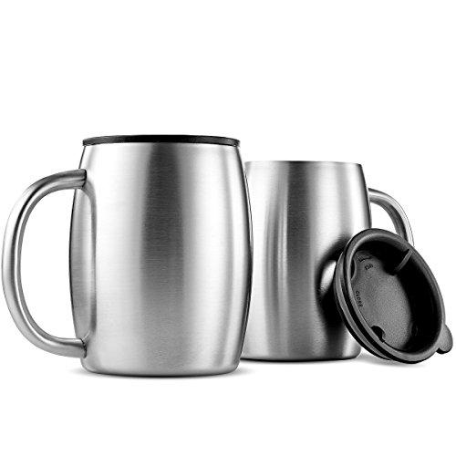 Finedine Premium Grade Stainless Steel Coffee Mugs Best