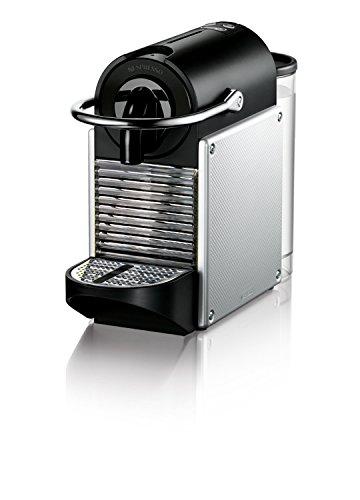 nespresso pixie espresso machine by de 39 longhi aluminum best price review. Black Bedroom Furniture Sets. Home Design Ideas