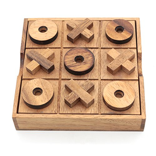Bsiri Tictactoe Wooden Board Games Noughts And Crosses