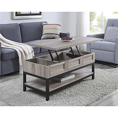 Ameriwood Home Barret Lift Up Coffee Table