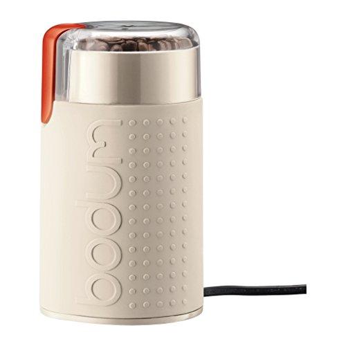 Bodum BISTRO Blade Grinder, Electric Blade Coffee Grinder, Off White