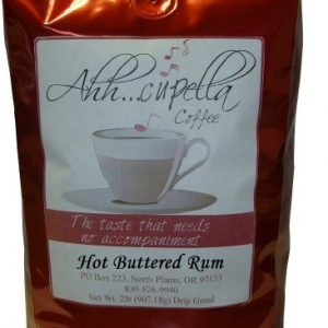 Ahh..Cupella Premium Gourmet Hot Buttered Rum Flavored Ground Coffee, 16oz bag
