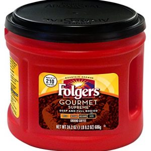 Folgers Gourmet Supreme Coffee, 24.2 Ounce