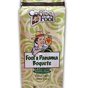 The Coffee Fool Fool's Panama Boquete Whole Bean Coffee, 12 Ounce