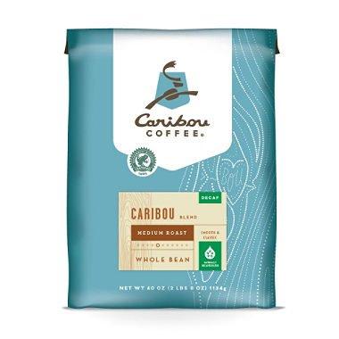 Caribou Coffee Whole Bean, Decaf Caribou Blend (40 oz.) ES