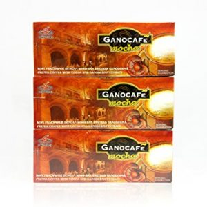 Gano Excel Mocha Coffee With Ganoderma Lucidum Extract 3 Boxes Pack