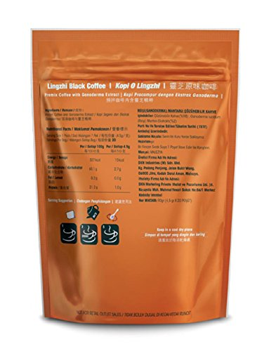 DXN Lingzhi Black Coffee With Ganoderma Extract Best Price Review 1c291e4754