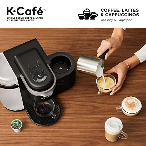 Keurig K-Cafe Single Serve Coffee Maker, Latte And