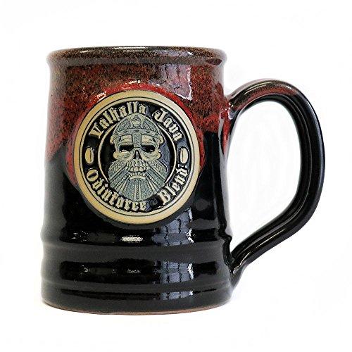 2018 Edition Valhalla Java Ceramic Coffee Mug - Handmade in the U.S.A. - 16 oz