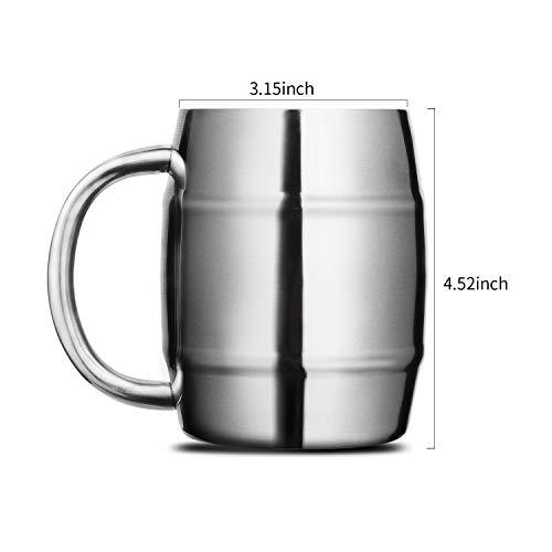 WithSet Of 1 Coffee Oneb Mug Stainless Steel UMzSVp