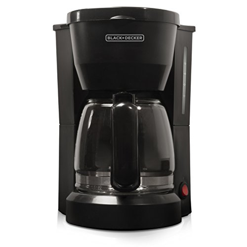 BLACK+DECKER 5-Cup Coffeemaker, Black