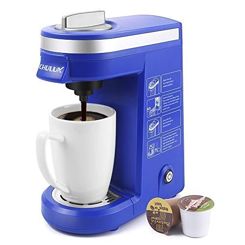 CHULUX Coffee Maker Machine, Single Cup Pod Coffee Brewer