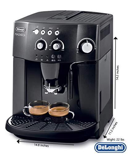 Espresso Coffee Machine With An Adjustable Grinder, Milk ...