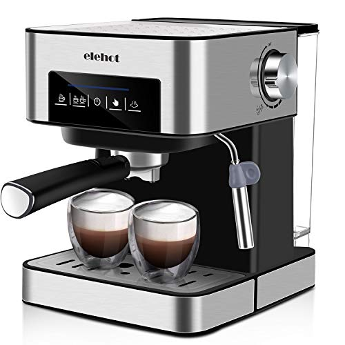 Espresso Machine With 15 Bar Pump And Milk Frother