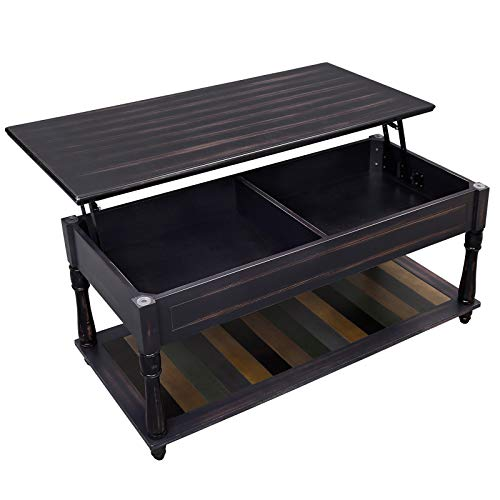 Lift Top Coffee Table Solid Wood 2
