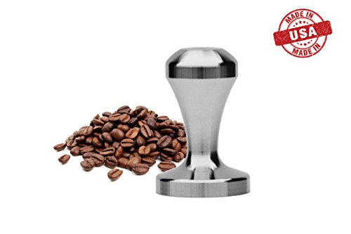 /… Solid Stainless Steel Made in USA by Purple Mountain Heavy Professional Barista Quality Tamper for Espresso Coffee 58mm//53mm//51mm//49mm