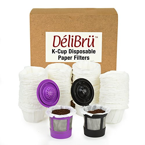Optional Disposable Paper Filters for Reusable K Cups