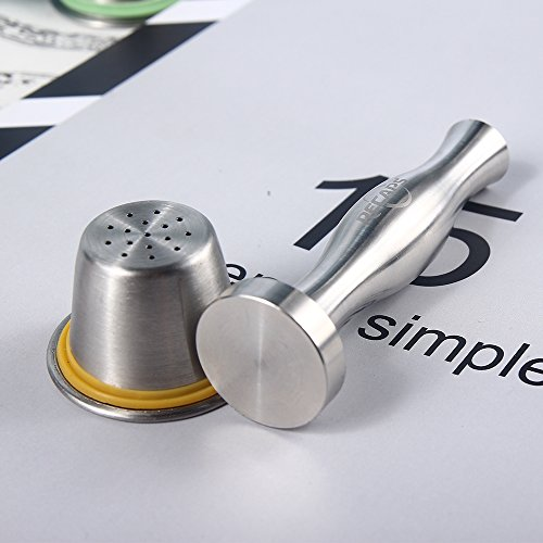 Tamper Filling Tool by RECAPS Compatible with Nespresso Machine