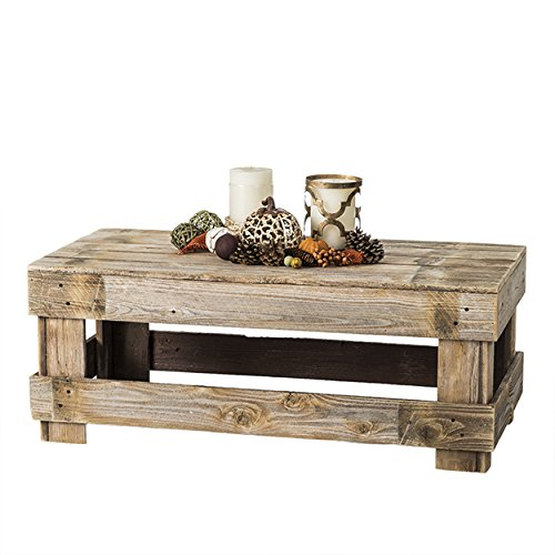Del Hutson Designs - Rustic Barnwood Coffee Table
