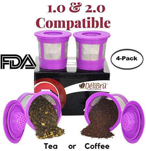 Kitchen & Dining Coffee, Tea & Espresso BPA Free, Refillable K-Cup ...