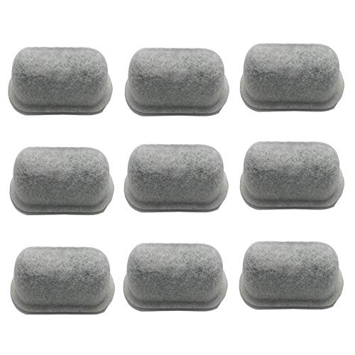 12-Pack of Cuisinart Compatible Replacement K&J Charcoal Water Filters