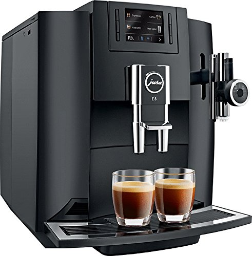 Jura Automatic Coffee Machine E8, Black Coffee and TEA ...