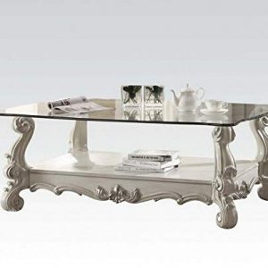 ACME Versailles Bone White Coffee Table