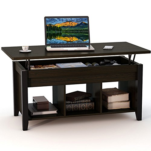 Tribesigns Lift Top Coffee Table with Hidden Storage Compartment