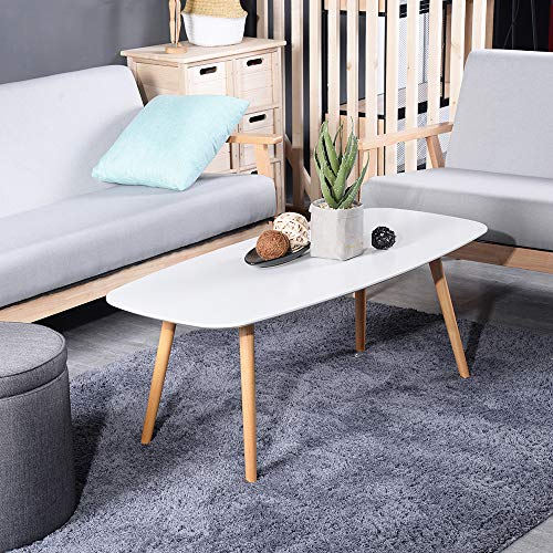 Modern Oval Tail Center Table For