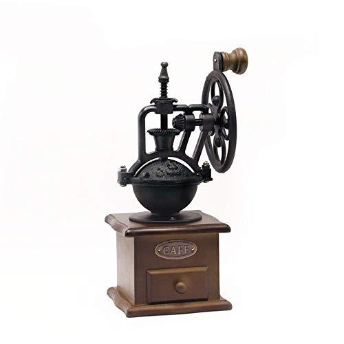 OiHome Manual Coffee Grinder Vintage Style Hand Coffee Mill Ceramic Coffee Grinder