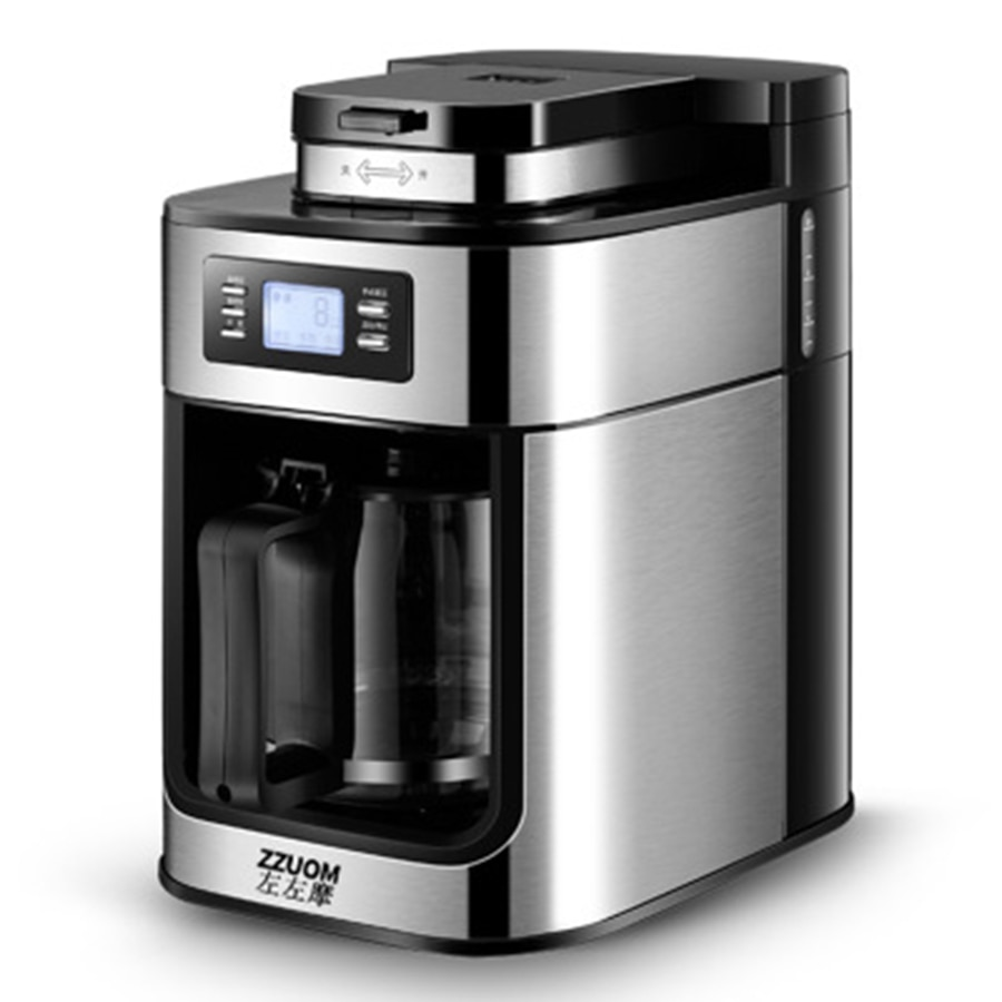 220V/110V Fully-automatic Commercial Coffee Machine ...