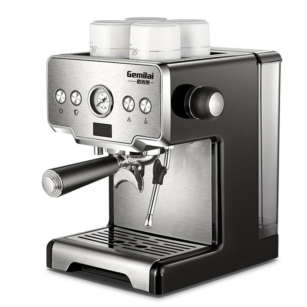 15 Bar Pressure Semi-Auto Italian Espresso Machine CRM-3605 Commericial Coffee Maker 220V 1.7L Water Tank Coffee Machine