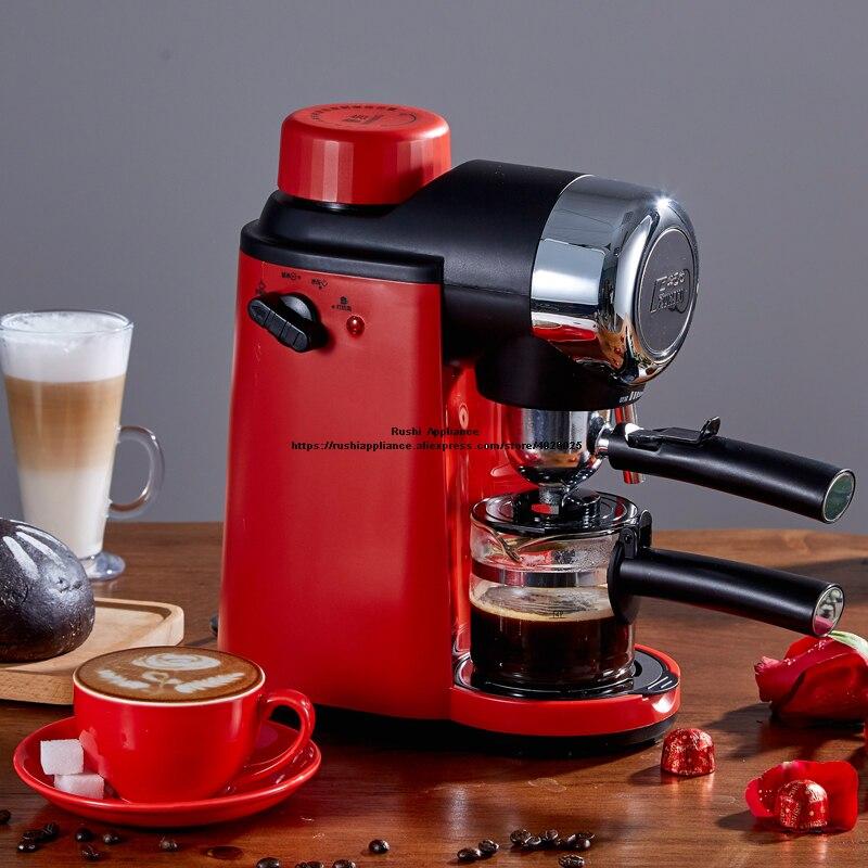 Espresso Machine Coffee Maker Machine for Home Semiautomatic Steam Type Pressure Steam Maker Milk Frother Coffee Pot 220V 240ml