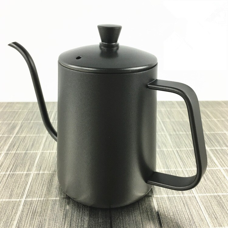 1PC Stainless Steel Long Mouth Pot Hand Wash Coffee Makers Espresso Machines Jarras Kettle Gas Termo Hervidor Jug Milk PH 007