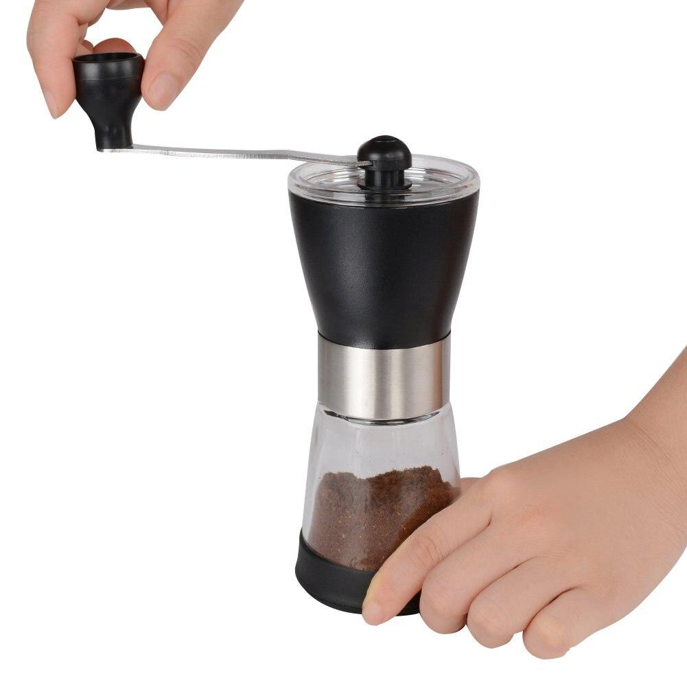 Manual Coffee Grinder, Ceramic Coffee Mill, Adjustable Grind