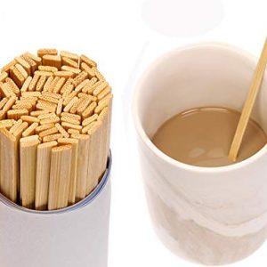 100 x Mini Coffee Stirrers Eco Friendly