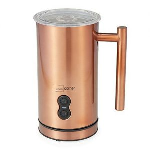 Milk Frother Cappuccino, Iced Coffee Drinks, Copper Finish