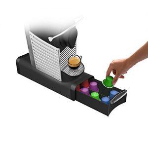 Black Slim Coffee pod drawer
