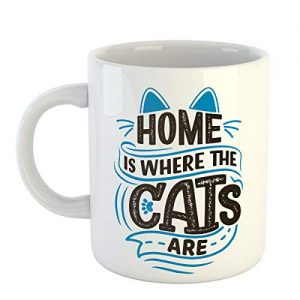 Funny Cat Coffee Mug for Cat Lovers