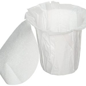 EZ-Carafe Disposable K-Carafe Paper Filters with Patented Top Lid
