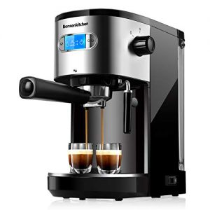 Espresso Machine 20 Bar Coffee Machine with Milk Frother Wand