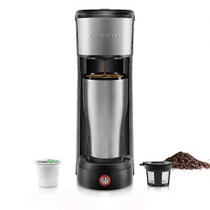 Single Serve Coffee Maker Brews in 30 Seconds Compatible with K -Cup Pods