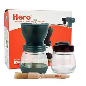 Hero Manual Coffee Grinder-Conical Ceramic Burr Mill