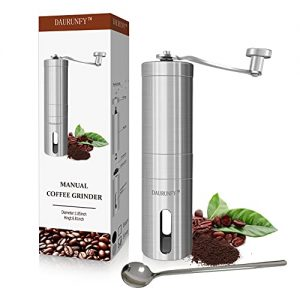 Coffee Grinder Portable Hand Coffee Bean Mill with Ceramic Adjustable