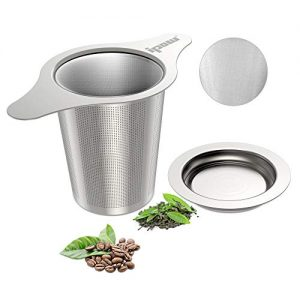 IPOW Upgraded 18/8 Stainless Steel Tea and Coffee Infuser